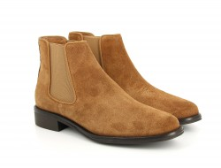 NEWTON CHELSEA - SUEDE - TABACCO