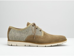 SHAFT DISTRICT - SUEDE/PALERMO - TAUPE/BEIGE