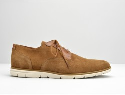SHAFT CLUB - SUEDE/CICLON - COGNAC/CAMEL