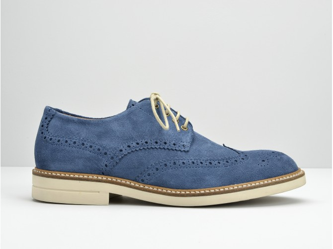 CREW PERFO - OILY SUEDE - JEANS