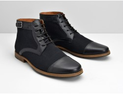 BLIND DOUGLAS BOOTS - BUFFALO/LONDON - NERO/NERO