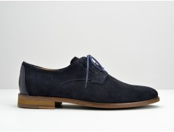 APOLLON DERBY - SUEDE/CAPRI - MARINO/NIGHT BLUE
