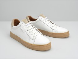 SPARK CLAY - MERIDA/SUEDE - WHITE/BEIGE