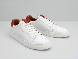 SPARK CLAY - MERIDA/SUEDE - WHITE/RUBIS