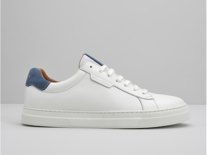 SPARK CLAY - MERIDA/SUEDE - WHITE/JEANS