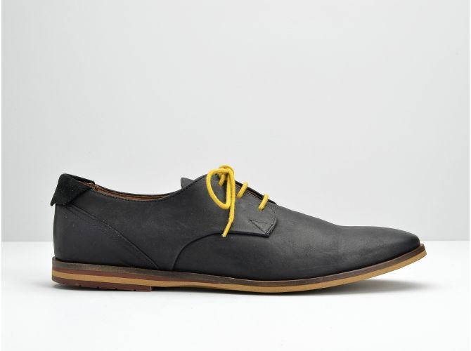 SWAN DERBY - DANI / SUEDE - BLACK