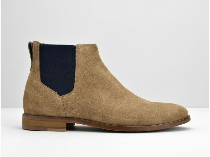APOLLON CHELSEA - SUEDE - TAUPE