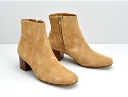 JUPITER BOOTS - KID SUEDE - LATTE