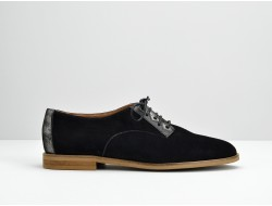 GALAXY DERBY - KID SUEDE - NERO