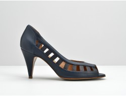 ODISSEY OPEN TOE - SAUVAGE / AVILA - NIGHT BLUE / NAVY