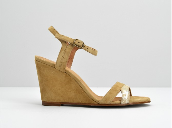 CALLIOPE ANKLE - KID SUEDE / LUNI - LATTE / IVORY