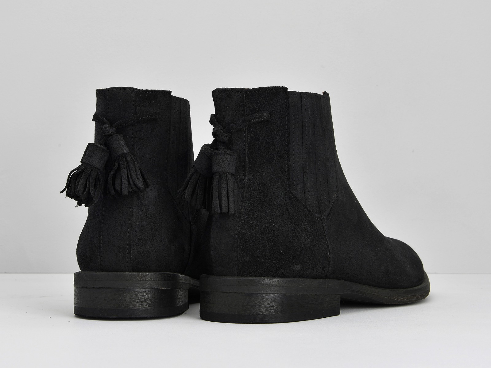 schmoove.fr Dark Chelsea - Croute Vintage - Black