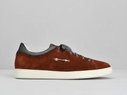 Sally Sneaker - Suede / Douro - Terracotta
