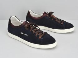 Sally Sneaker - Suede / Douro - Azul