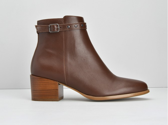 Callisto Boots - Lotus - Cognac