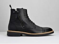 CREW BOOTS - TEXAS/CICLON - BLACK/BLACK