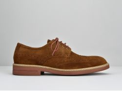 CREW PERFO - SUEDE - CIGARO SOLE BRIQUE