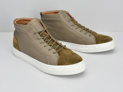 SPARK MID - SUEDE/NEW YORK - TOSTATO/TAUPE