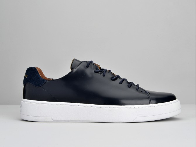 VICE SNEAKER - POLIDO - NAVY SOLE WHITE