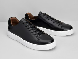 VICE SNEAKER - POLIDO - BLACK SOLE WHITE