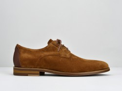 APOLLON DERBY - SUEDE/CAPRI - CIGARO/CIGARO
