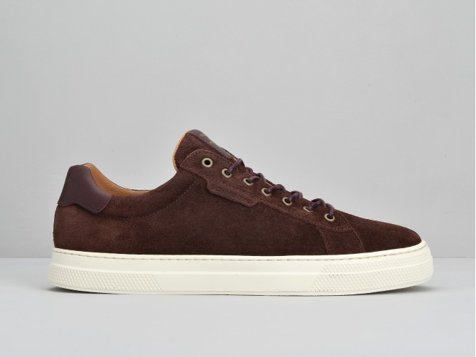 SPARK CLAY - SUEDE - BORDO