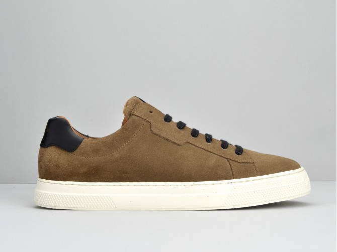 SPARK CLAY - SUEDE - TAUPE
