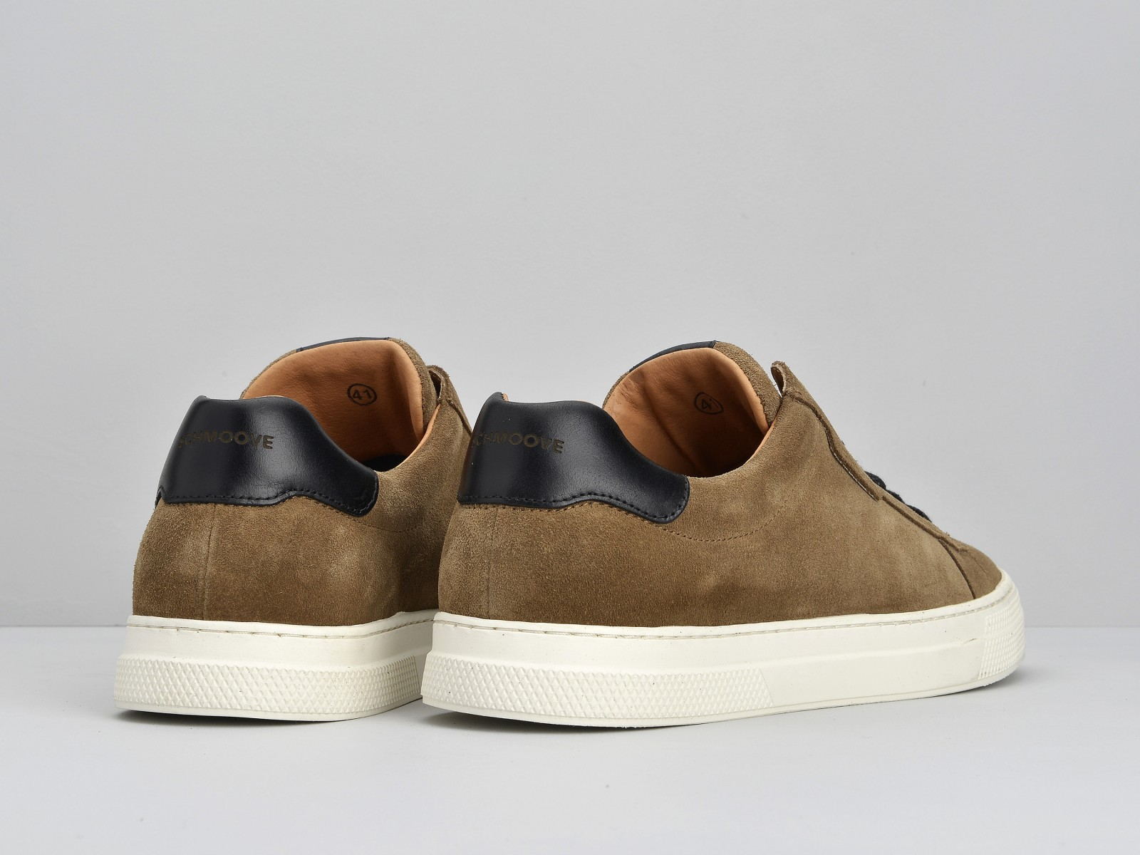 schmoove.fr SPARK CLAY - SUEDE - TAUPE