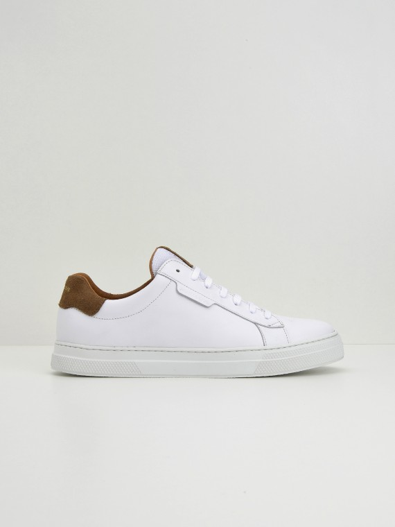 Spark Clay - Nappa/Suede - White/Vison