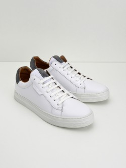 Spark Clay - Nappa/Suede - White/Cinza