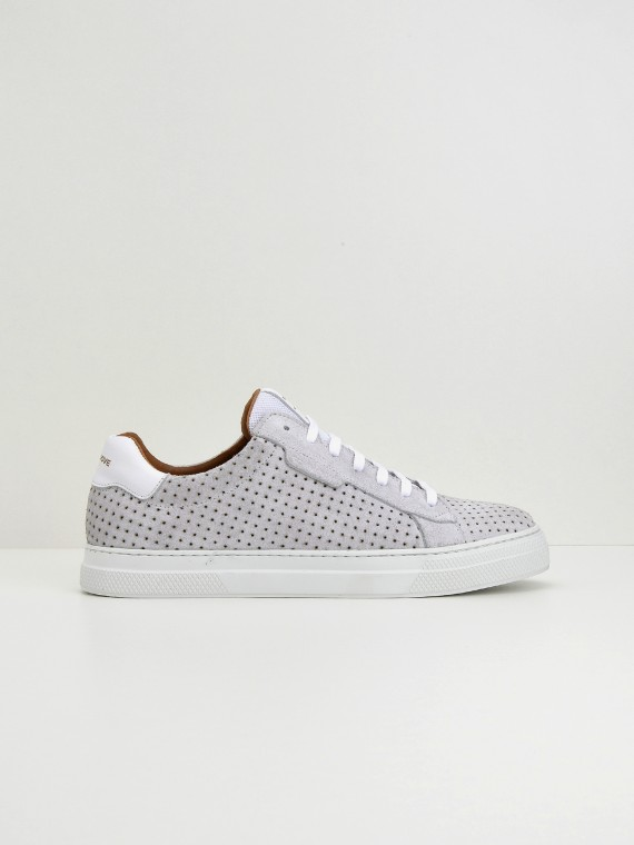 Spark Clay - Punch Suede - White