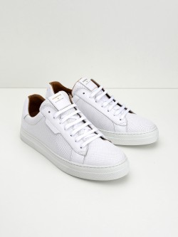 Spark Clay - Nappa M.Punch - White