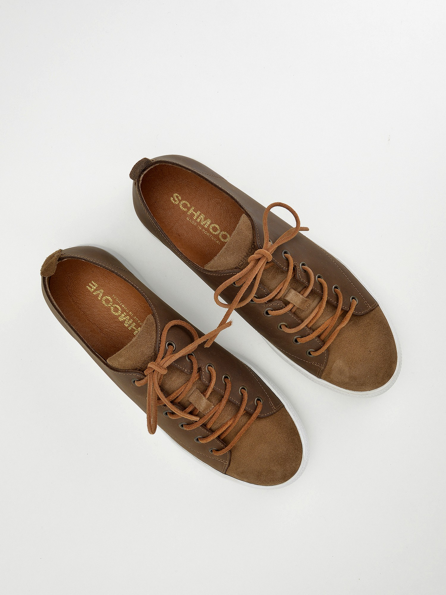 schmoove.fr Spark Soft - Suede/Fly - Vison/Cuoio