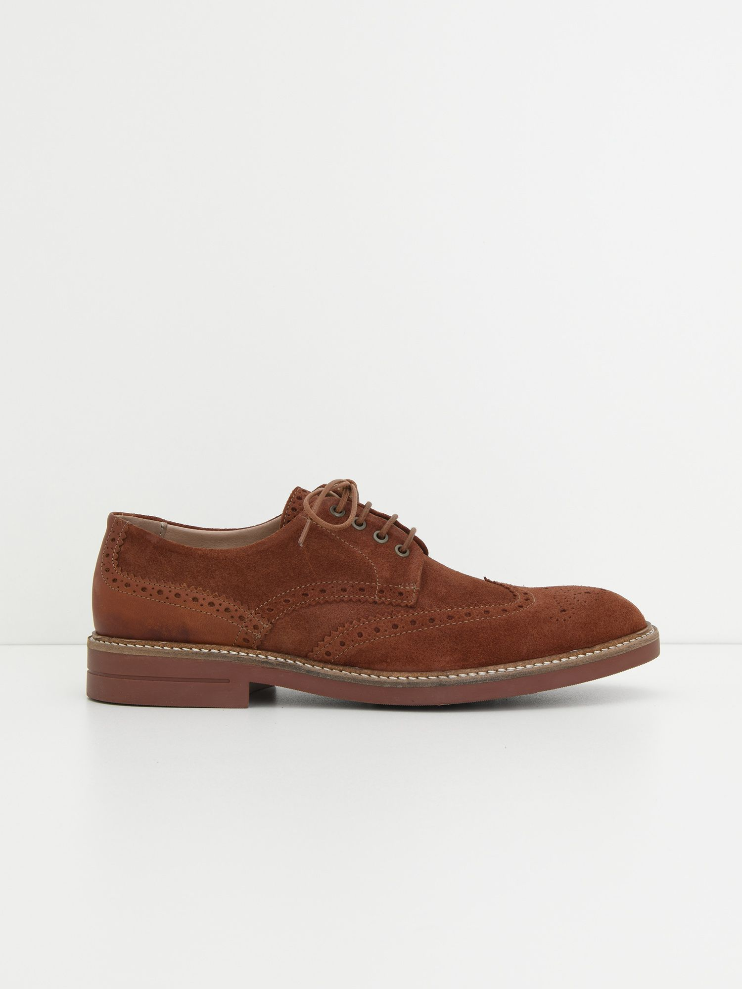 schmoove.fr Crew Perfo - Suede - Terracotta