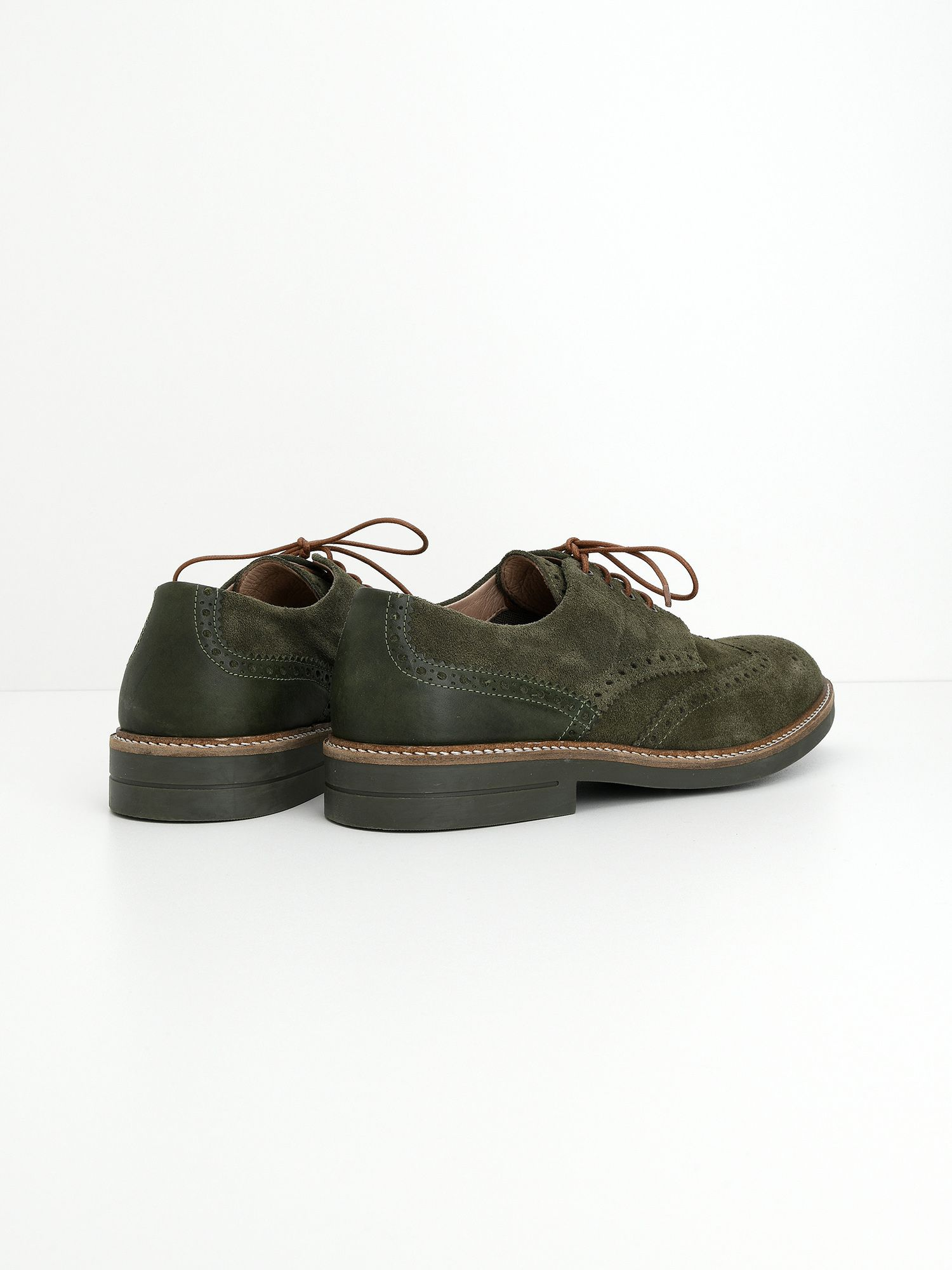 schmoove.fr Crew Perfo - Suede - Military