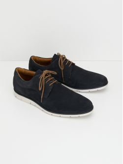 Shaft Derby - Nubuck - Azul