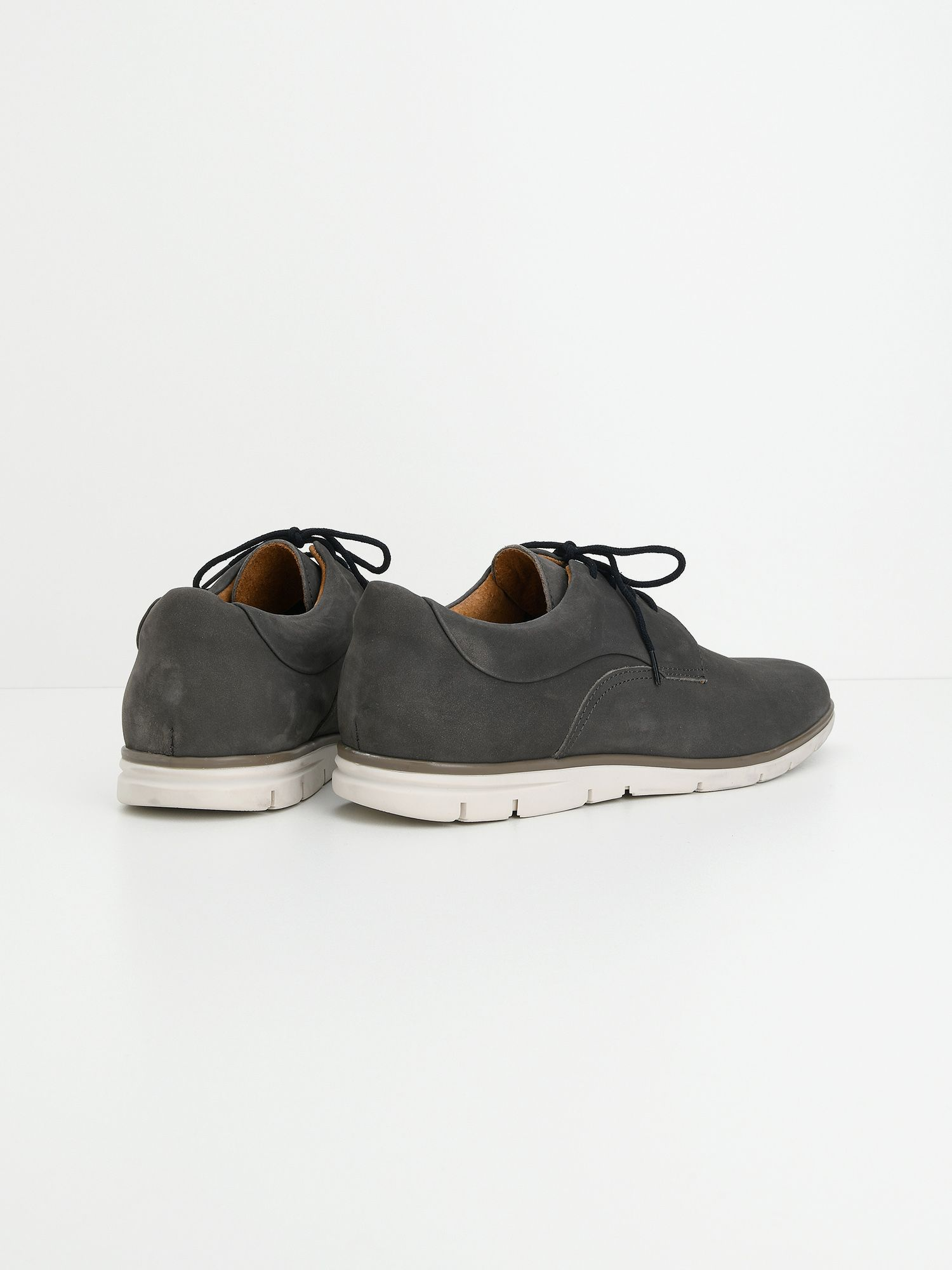 schmoove.fr Shaft Derby - Nubuck - Cinza