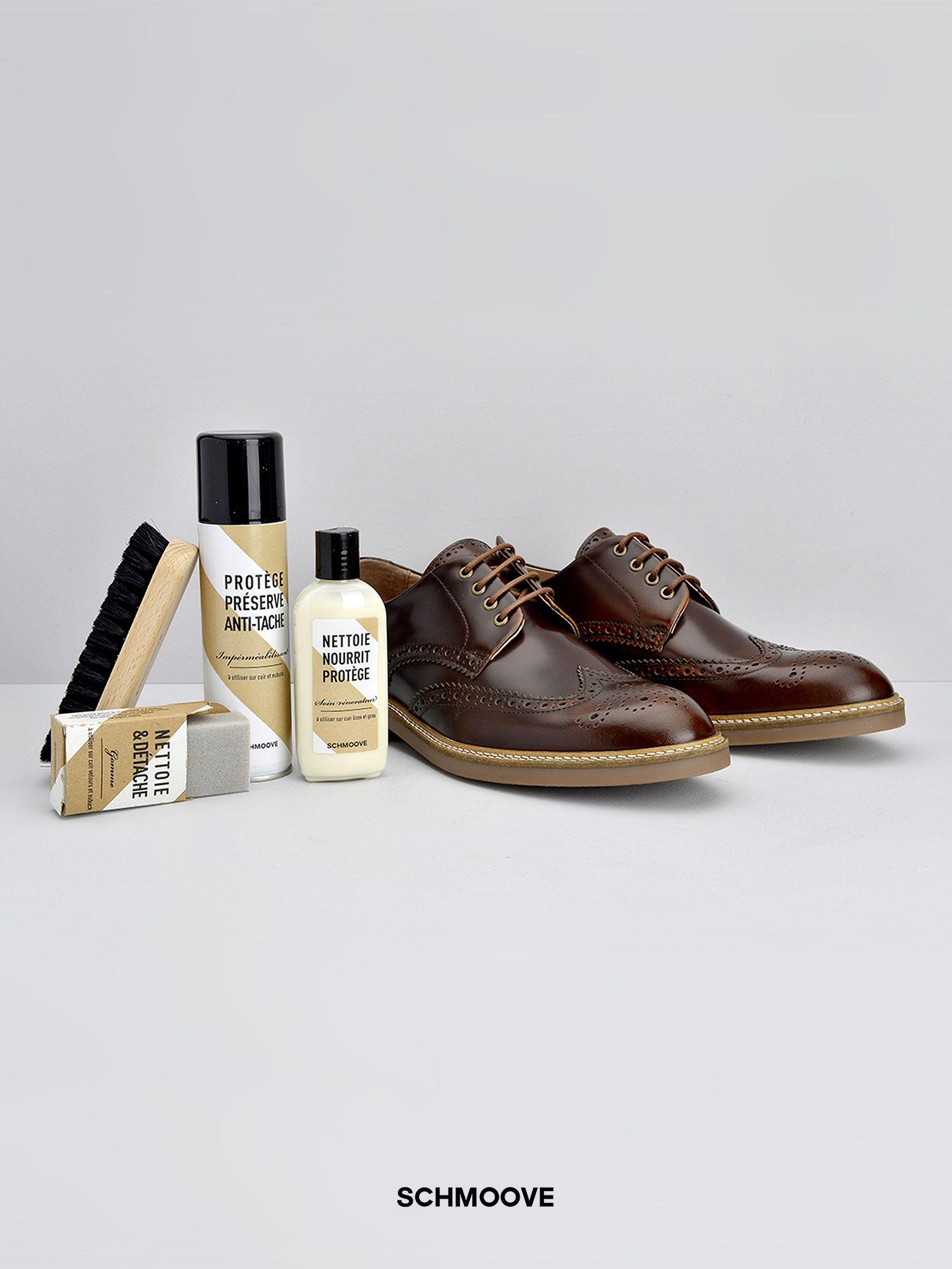 schmoove.fr Shoe care kit