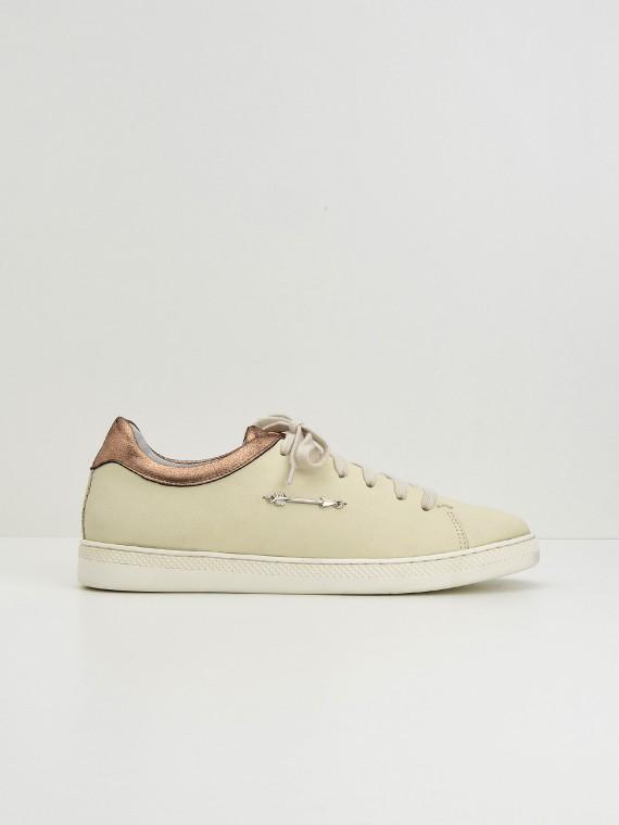 Sally Sneaker - Nubuck - Dove