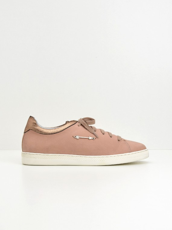 Sally Sneaker - Nubuck - Pink