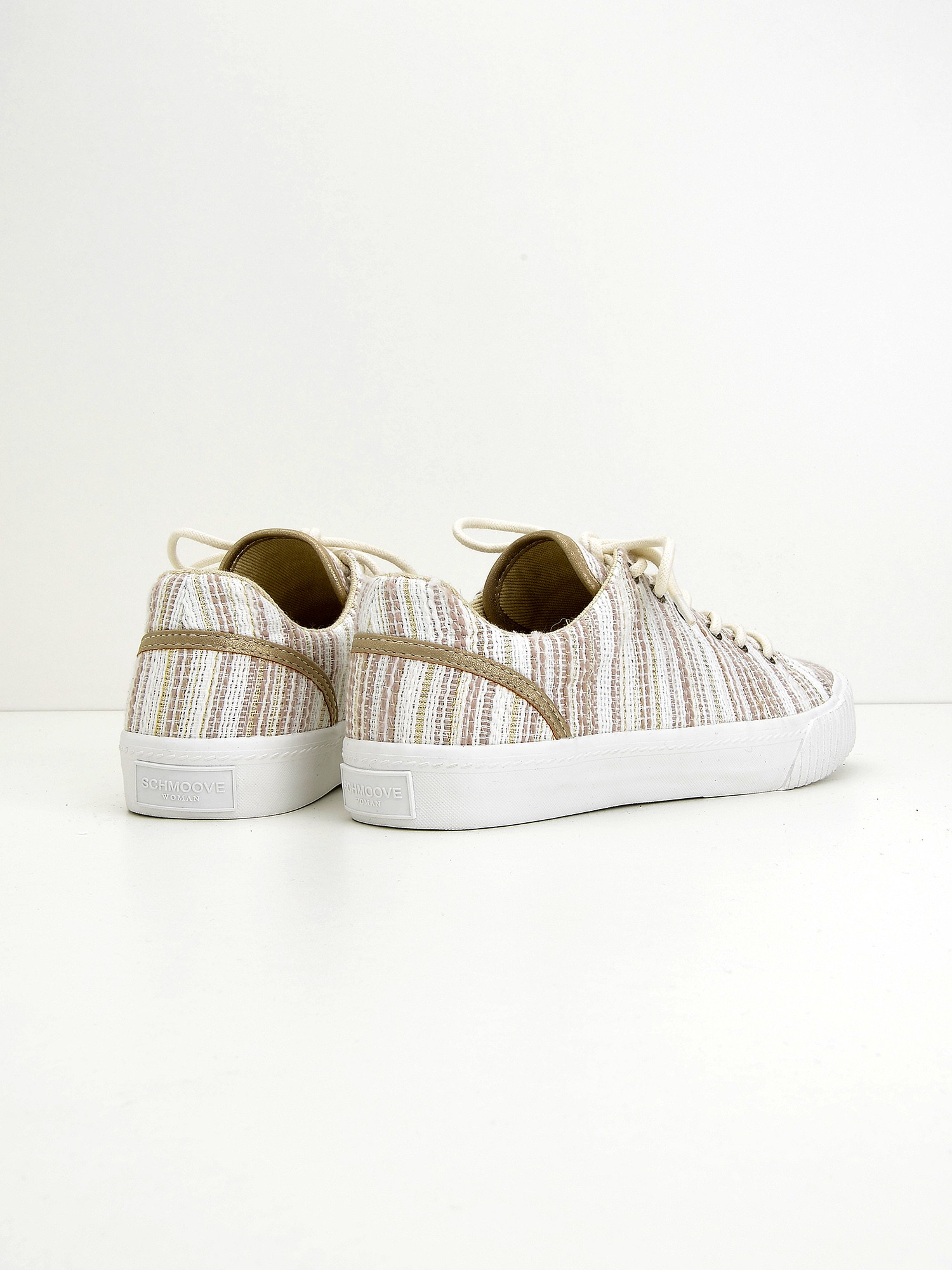 Wave Tennis W Lima, Baskets Femmes, Beige (Naturel), 38 EUSchmoove