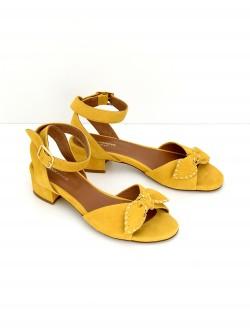 Vega Ankle - Kid Suede - Mimosa