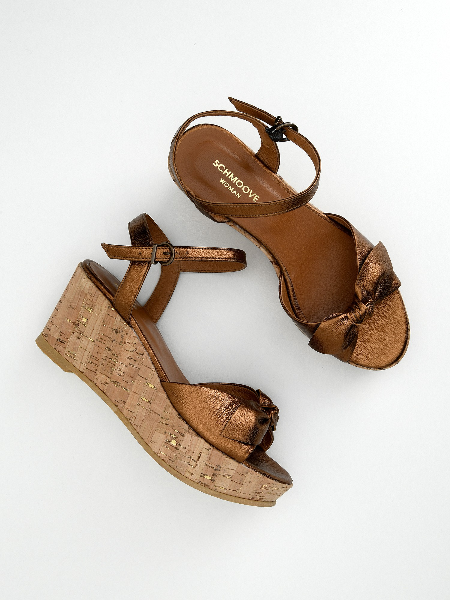 schmoove.fr Ariel Ankle - Metal Milled - Bronze
