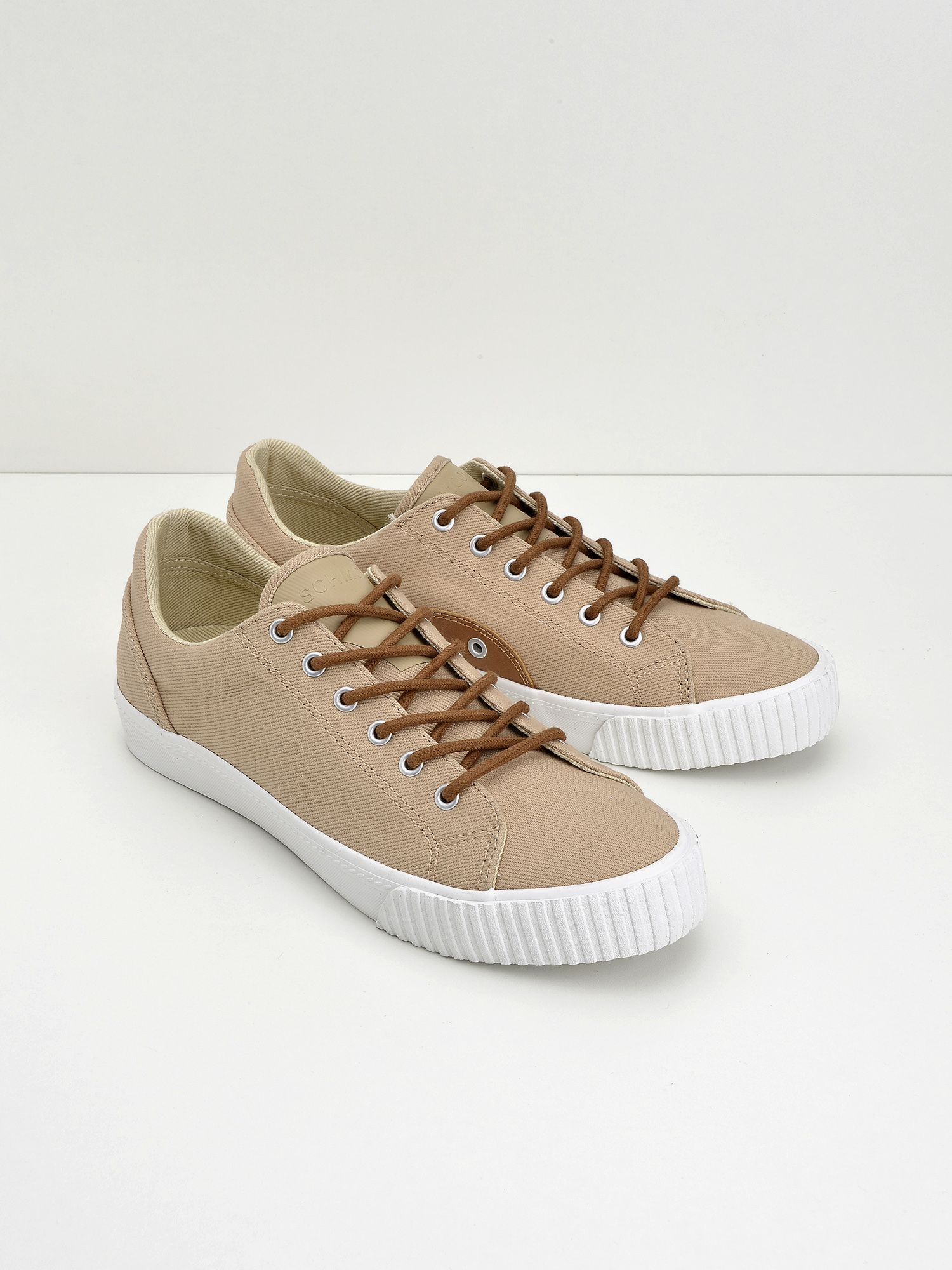 schmoove.fr Wave Tennis - Canvas - Taupe