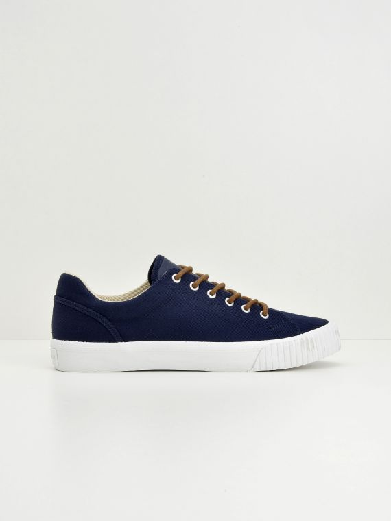 Wave Tennis - Canvas - Navy
