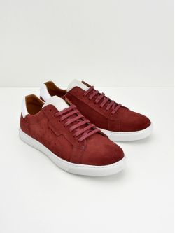 Cup Classic - Suede - Grenat
