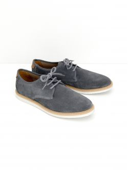 Fly Derby - Suede - Cinza