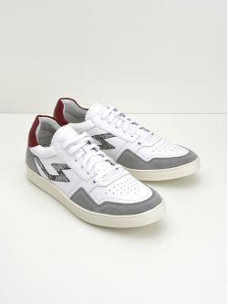Squash Tennis M - Suede/Nappa - Cimento/White