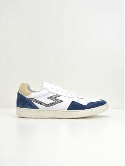Squash Tennis M - Suede/Nappa - Jeans/White