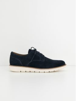 Echo Derby - Suede - Navy